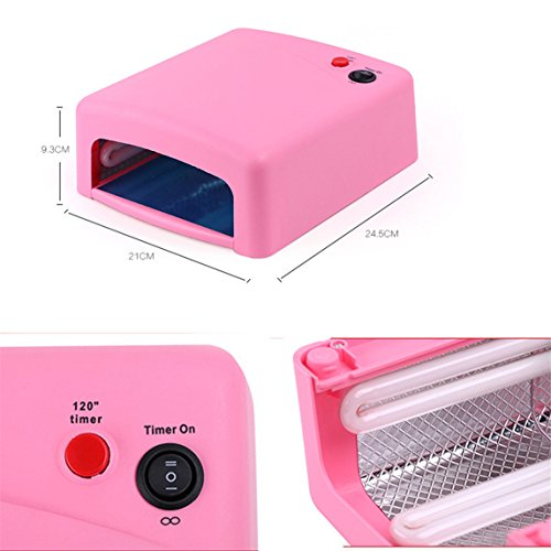 uv nail dryer timer portable - 6