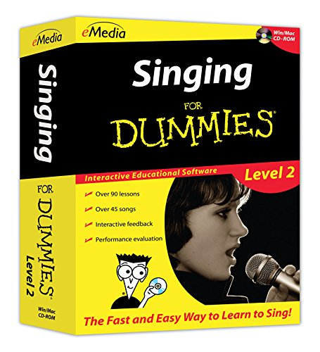 eMedia Singing For Dummies Level 2 by eMedia