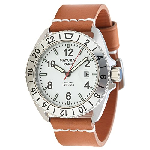 Unisex-Wrist-Dress-Watches-Brown-Leather-Watch-Men-with-White-Dial-and-Date-Calendar