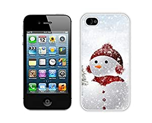 2014 Newest Cute Snow Baby White iPhone 4 4S Case 1