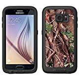 Skin Decal for LifeProof FRE Samsung Galaxy S6 Case - Real Tree Camouflage Hunter Sunset