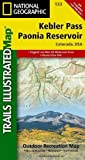 Kebler Pass, Paonia Reservoir (National Geographic Trails Illustrated Map)