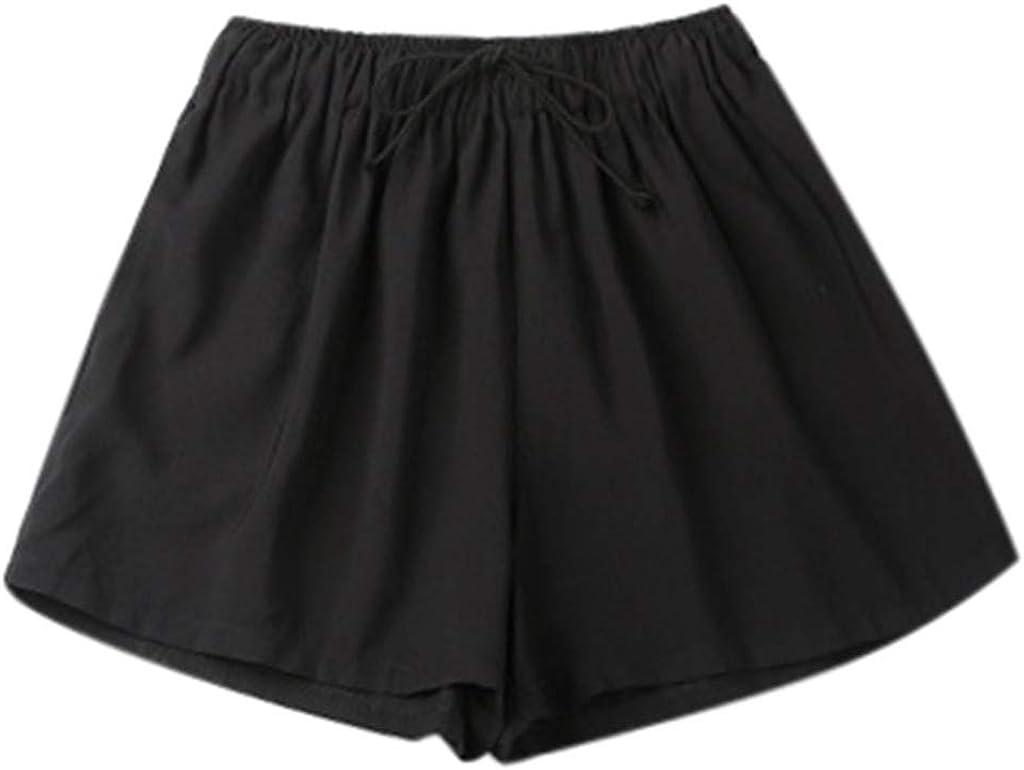 Womens Running Clothing Elastic Waist Summer Slim Lady Short Pants Teresamoon Casual Loose Pants