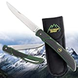 Outdoor Edge Fish and Bone  FB-1 The Perfect Folding Knife For Deboning Fish And Game, Outdoor Stuffs