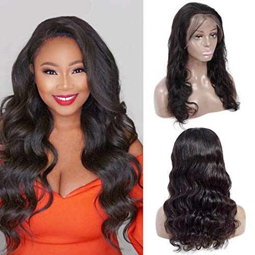 Brazilian Body Wave 18 inch Lace Front Wigs 13×4 Human Hair Wigs 150% Density Lace Wigs Pre Plucked for Black Women Natural Hairline Human-Hair-Lace-Front-Wigs