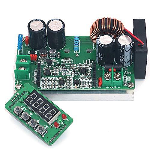 Price comparison product image WINGONEER Step Down Voltage Regulator DC 6V-65V to 0-60V Buck Converter 60v 24V 12V 5V 8A 400W Constant Voltage Constant Current NC Adjustable Power Supply Volt Reducer Module