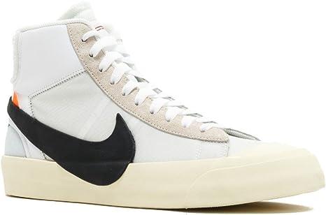Nike The 10 Blazer Mid 'off White' AA3832 100 Size 42.5