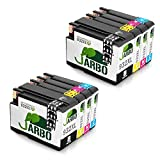 JARBO 932XL 933XL Replacement for HP 932 933 Ink Cartridges High Yield Compatible with HP Officejet 6600 6700 6100 7612 7610 7110 (2 Black, 2 Cyan, 2 Magenta, 2 Yellow)