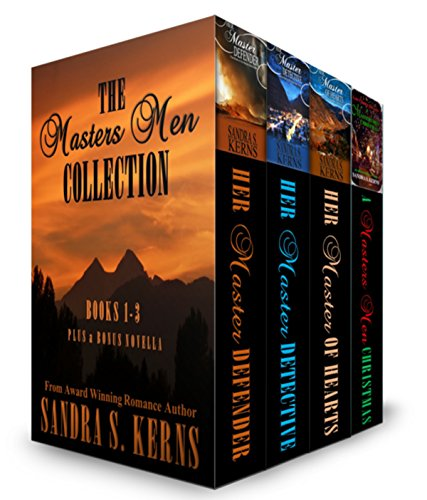 The Masters Men Collection,Books 1-3 plus Novella by [Kerns, Sandra S.]