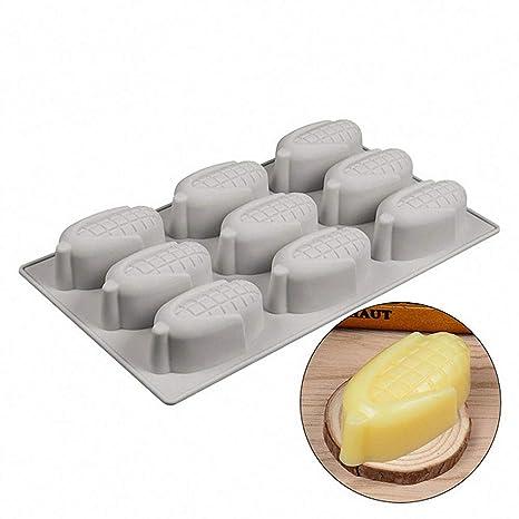 Amazon.com: MoldFun - Molde de silicona 3D de maíz para ...