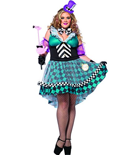Manic Mad Hatter Adult Costume - Plus Size 3X/4X -