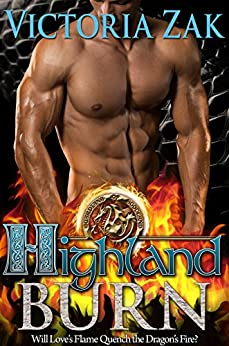 Highland Burn (Guardians of Scotland Book 1) by [Zak, Victoria]