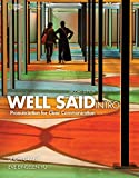 Book cover from Well Said Intro (Well Said, New Edition) - Standalone book by Linda Grant