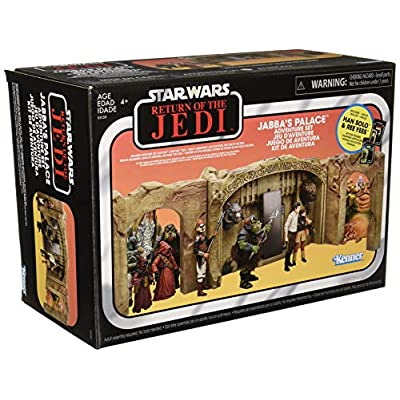 Star Wars Exclusive The Vintage Collection: Episode VI Return of The Jedi Jabba's Palace Adventure Set Playset: Toys & Games