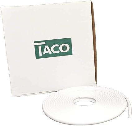 Amazon Com Flexible Vinyl Rub Rail Insert Size 1 H X 0 5 W X 600 D Color Arctic White Boating Tools Sports Outdoors
