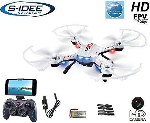 S-Idee 01603 cuadricóptero S181W dron WiFi FPV con cámara HD de ...