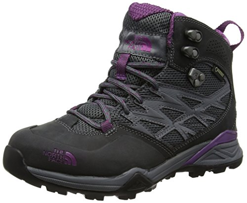 THE NORTH FACE W HH Hike Mid GTX, Botas de Senderismo para Mujer Varios Colores (Dark Shadow Grey/Wood Violet)