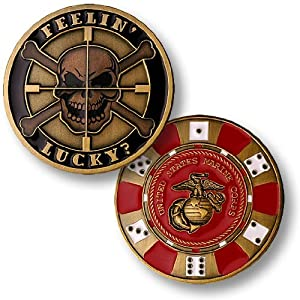 Feelin' Lucky -- Marine Corps Challenge Coin