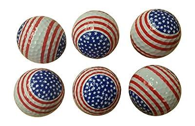 Patriotic Golf Balls (6 Pack)