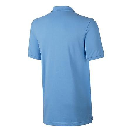 Nike MC NSW Pq Cre Polo, Hombre, Azul (Field Blue/Midnight Navy ...