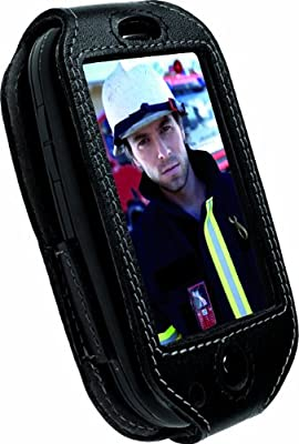Krusell Dynamic Leather Case with Slide Swivelkit for Palm Pre - Black by Krusell