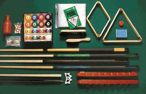 - Playcraft Deluxe Billiard Equipment Set