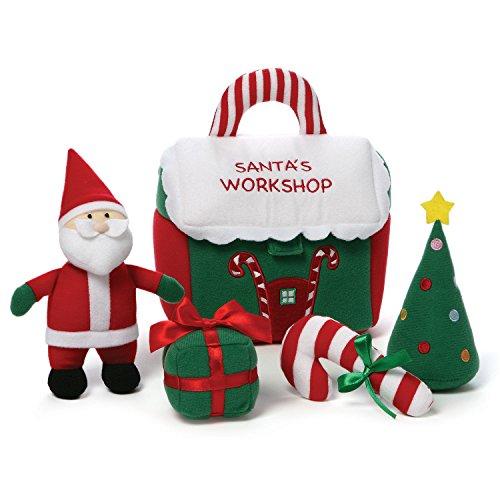 Gund Santa's Workshop Playset -