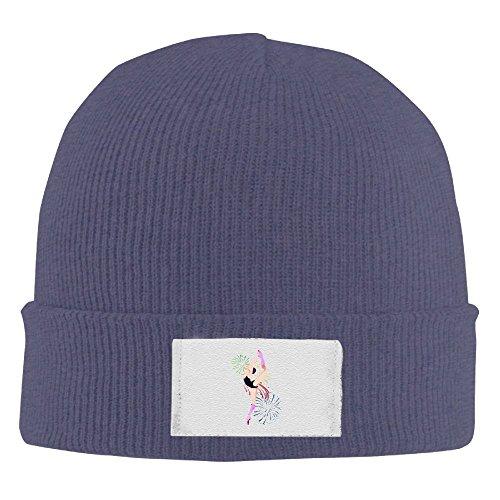J4g5 Caps Gymnastics Silhouette Men's Casual Beanie Hat Winter Skull Caps