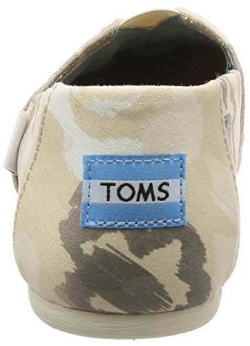 Natural Hombre Toms Floral Natural Watercolor Classics 1001A07 Alpargatas HttO1I