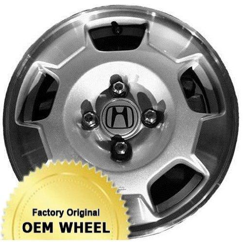 HONDA CIVIC,INSIGHT 14x5.5 Factory Oem Wheel Rim- MACHINE LIP SILVER - Remanufactured