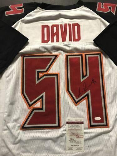 5b6e76f52c1 Lavonte David Signed Jersey - White COA - JSA Certified - Autographed NFL  Jerseys