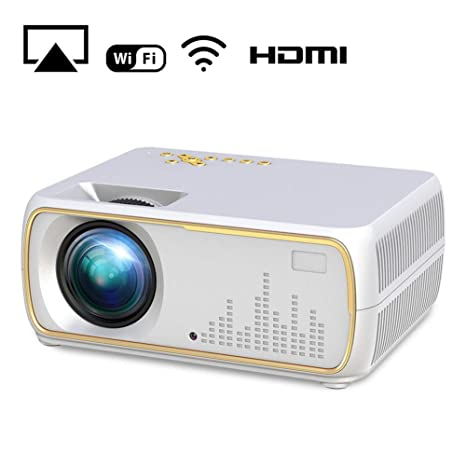 YTBLF Smart Pico proyector, Cine Multimedia Full HD 1080P, Vida ...