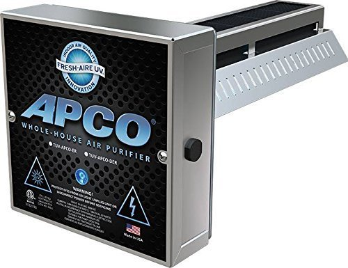 APCO TUV-APCO-ER Whole House UV Air Purifier 1 Year Lamp 24V