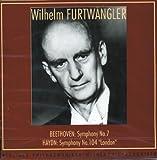 BEETHOVEN: SYMPHONY NO.7 / HAYDN: SYMPHONY NO.104 LONDON ベートーヴェン作曲交響曲第7番 イ長調 Op.92 / ハイドン作曲交響曲第104番 ニ長調「ロンドン」