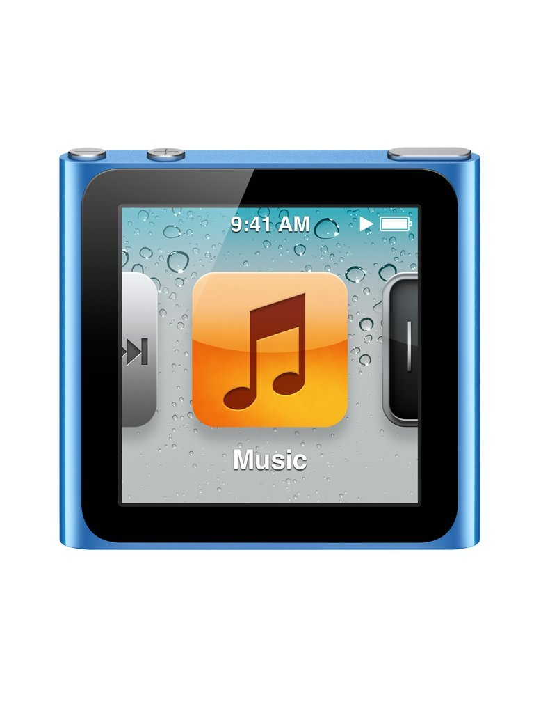 Apple iPod nano 8GB - Blue - 6th Generation (Launched Sept 2010):  Amazon.co.uk: Audio & HiFi