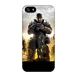 Iphone 5/5s OzM15888qLRU Allow Personal Design Lifelike Gears Of War 3 Pictures Best Hard Phone Cases -IanJoeyPatricia