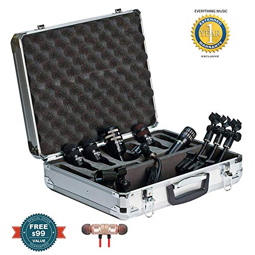 Audix DP5A Drum Mic Packincludes Free Wireless Earbuds - Stereo Bluetooth In-ear and 1 Year Everything Music Extended Warranty