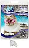 Soft Claws for Cats, Size Medium, Color Silver Glitter, My Pet Supplies