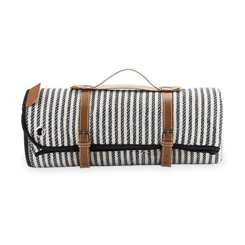 True Fabrications Portable Picnic Blanket, Folding Waterproof Beach Outdoor Picnic Blanket (Sold by Case, Pack of 6)