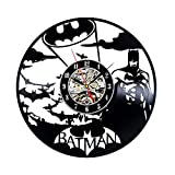 Batman Theme Vintage Vinyl Handmade Wall Clock Review