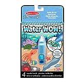 Melissa & Doug Bloc Revelador Para Colorear Con Agua - Mundo Submarino