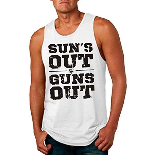 men s sun s out guns out