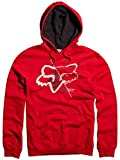 Fox Racing Overdrone Fleece Pullover Hoodie – 2X-Large/Red thumbnail