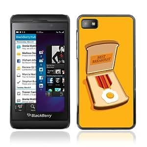 YOYOSHOP [Funny Bacon Medal Illustration] Blackberry Z10 Case