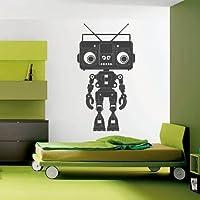 Wall Decor Vinyl Sticker Room Decal Robot Mechanics Engineering Equipment Technique Technology (S71)
