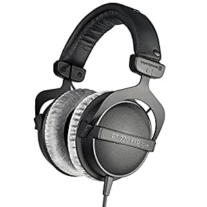 beyerdynamic DT 770 Pro, 80 Ohms-Closed Reference Headphone for Control and Monitoring Applications