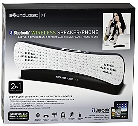 SoundLogic Bluetooth Wireless Speaker with Integrated Phone (72-15999)