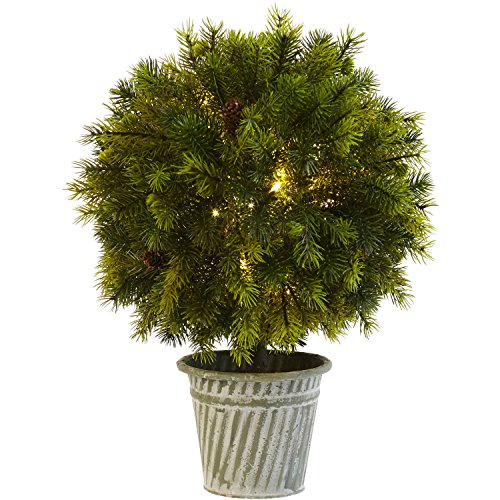 Artificial Topiary Balls With Led Lights in Florida - 7