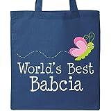 Inktastic - Babcia Polish Grandma Gift For Her Tote Bag Royal Blue