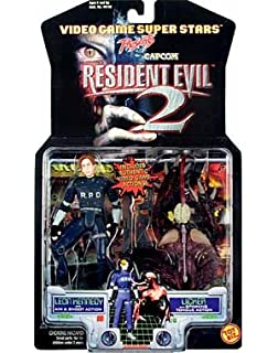 Resident Evil 2 Leon Kennedy & Licker